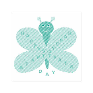 Uno mismo de la mariposa del día de Patricks del Sello Automático
