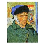 Uno mismo de Van Gogh Postal