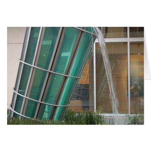 uno mismo portrait2 del dren del tejado del cubo felicitación
