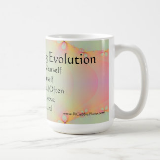 Uno mismo que perpetúa la taza de la evolución