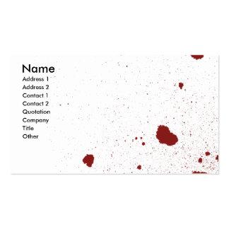 Uno morirá tarjetas de visita