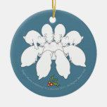 Uno-Ordeño de la Isla de Man ocho (ornamento del á Adorno Para Reyes