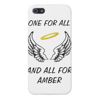Uno para todos/todos para el ámbar iPhone 5 fundas