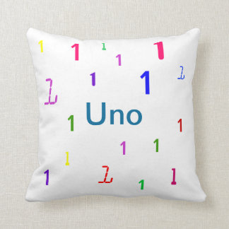 Uno Pillow - Decorative Accent Throw Pillow 3