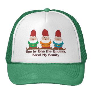 Uno por uno los gnomos gorra