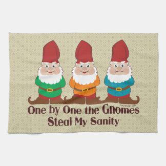 Uno por uno los gnomos toalla