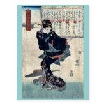 Uno por Utagawa, Kuniyoshi Ukiyoe Postales