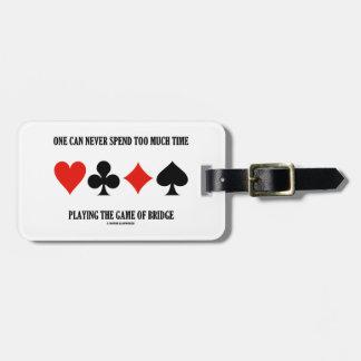 Uno puede nunca pasar demasiada hora que juega el etiquetas bolsas
