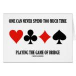 Uno puede nunca pasar demasiada hora que juega el  tarjeta