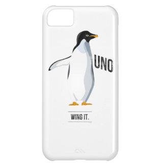 Uno - Váyase volando lo caso del iPhone Funda Para iPhone 5C