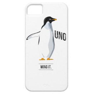 Uno - Váyase volando lo caso del iPhone iPhone 5 Fundas