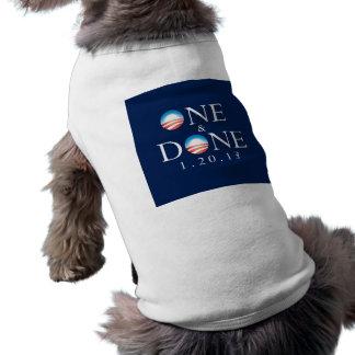 UNO y camisetas sin mangas HECHAS del perrito de O Ropa De Perro
