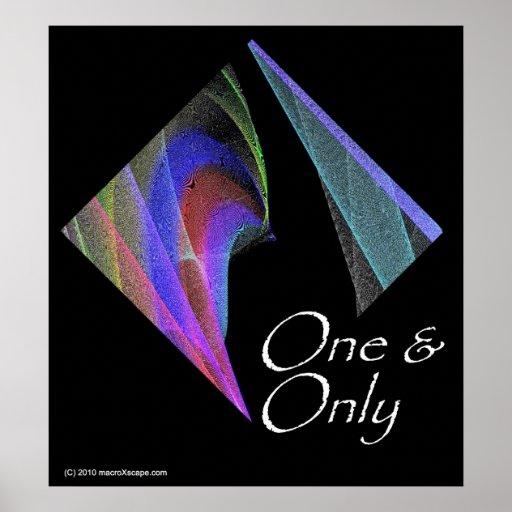 Uno y solamente póster