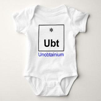 Unobtainium (aka: the unavailability) baby bodysuit