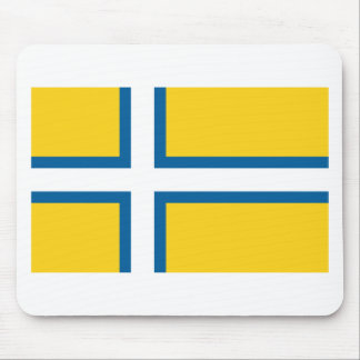 Unofficial Flag of West Sweden Mouse Pad