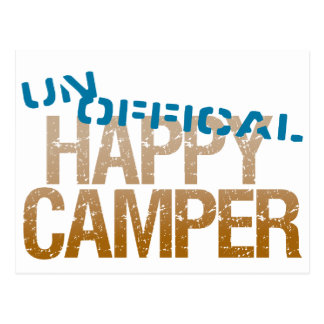 UnOfficial Happy Camper Post Cards