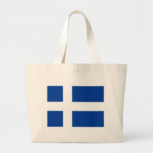 Unofficial Iceland Flag (circa 1900) copy Tote Bags