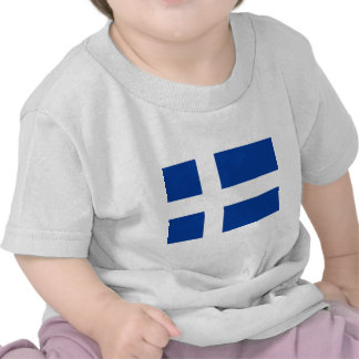 Unofficial Iceland Flag circa 1900 copy T Shirts