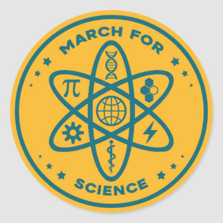 Unofficial March For Science Sticker
