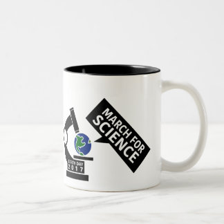 Unofficial March for Science two-tone Mug