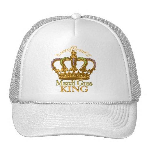 Unofficial Mardi Gras King Hat