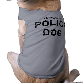 Unofficial POLICE DOG Tee
