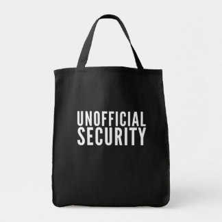Unofficial Security Perfect for all private Tote Bag