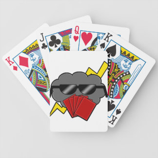 Unofficial Stormbluff Isle Server Clean Logo Bicycle Playing Cards
