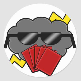 Unofficial Stormbluff Isle Server Clean Logo Classic Round Sticker