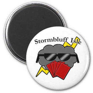Unofficial Stormbluff Isle Server Name & Logo 2 Inch Round Magnet