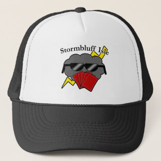 Unofficial Stormbluff Isle Server Name & Logo Trucker Hat