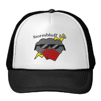 Unofficial Stormbluff Isle Server Name & Logo Trucker Hat