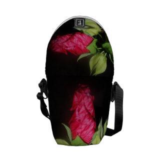 Unopened Hibiscus Flower Messenger Bag