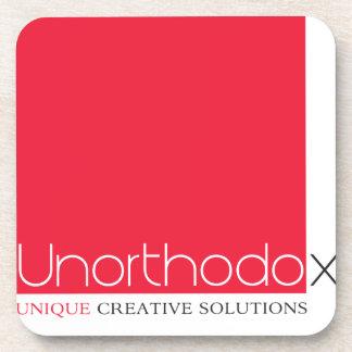 Unorthodox Branded Beverage Coasters