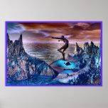Unos de los reyes magos de la montaña por AWall Posters