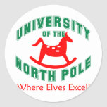 UNP Elves Classic Round Sticker