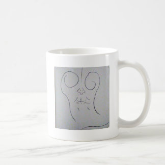 Unphoto Unrealism of Sartre Dominico  Caveman Coffee Mug