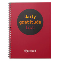 UnPickled Gratitude Journal