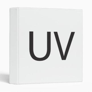 Unpleasant Visual ai Vinyl Binder