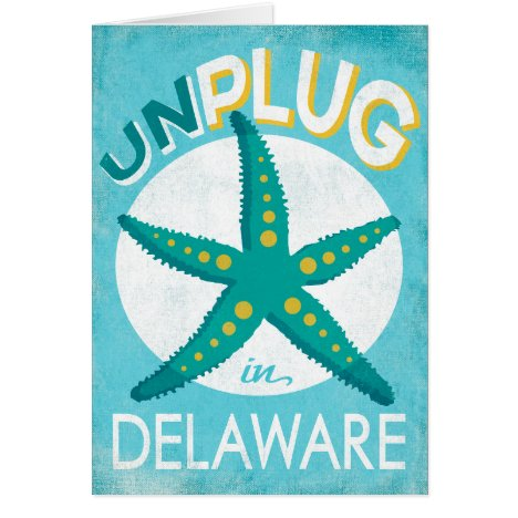 Unplug In Delaware Starfish Beach Nautical