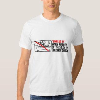 """""""Unplug It"""" T-shirt"""