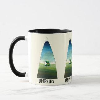 Unplug Mountain Mug