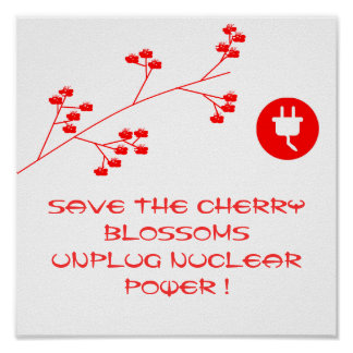 UNPLUG NUCLEAR POWER POSTER