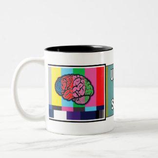 """Unplug the Signal"" Mug"