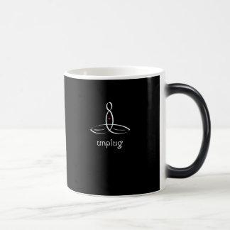 Unplug - White Fancy style Magic Mug