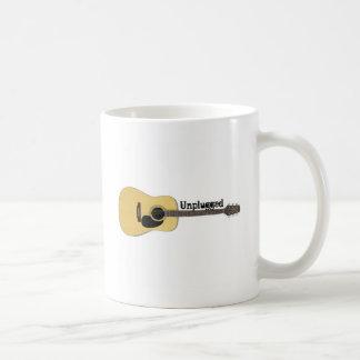 Unplugged Acoustic Guitar Coffee Mug