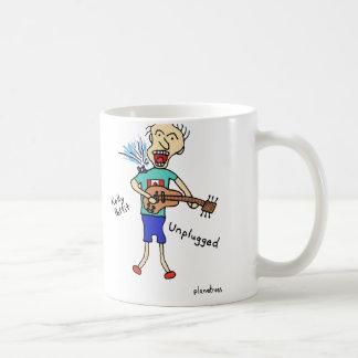 unplugged coffee mug