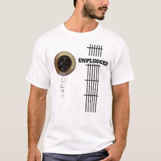 Unplugged guitar drain fret board image T-Shirt