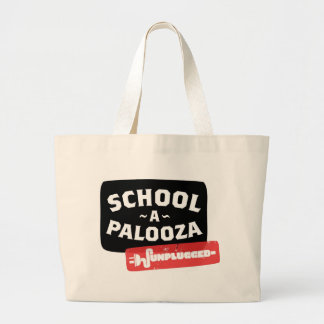 UnPlugged Large Tote Bag