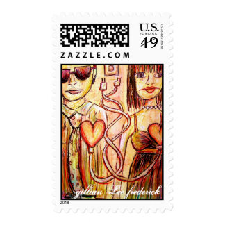 unplugged together stamps